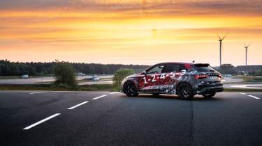 Audi RS3 mule 2020 SB – rear5
