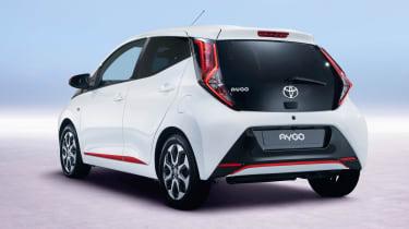 Toyota Aygo – rear quarter