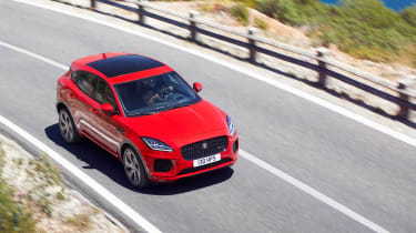 Jaguar E-Pace - driving high 2
