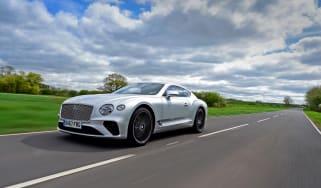 Bentley Continental GT UK drive - quarter