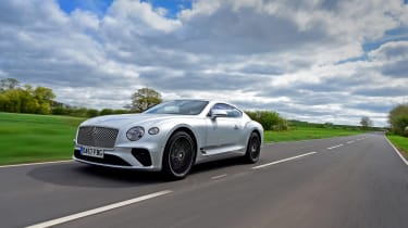 Bentley Continental GT UK drive - quarter