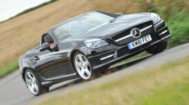 Mercedes-Benz SLK 250 CDI AMG Sport front cornering