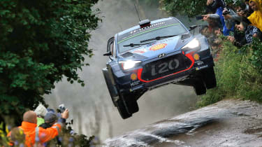 WRC round 9 - Rally Poland Neuville