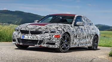2019 BMW 3-series teaser - static