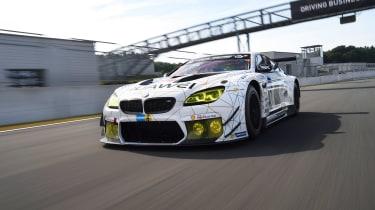 BMW M6 GT3 - front driven shot