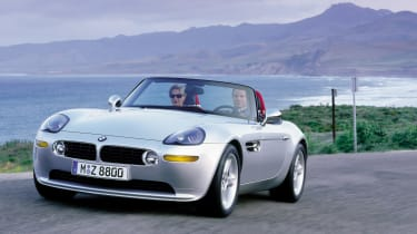 BMW Z8 – front quarter