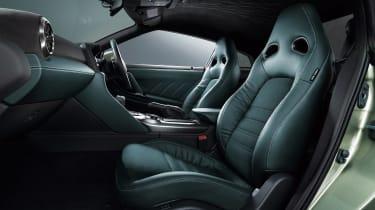 MY22 Nissan GT-R T-spec – seats