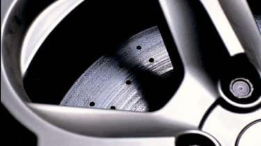 Lamborghini Murcielago wheel and caliper