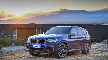 BMW X3 M40i - front static 1