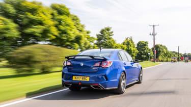 VXR8 GTS-R vs Carlton - rear tracking