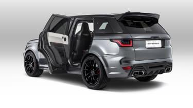 Overfinch Range Rover Sport doors open