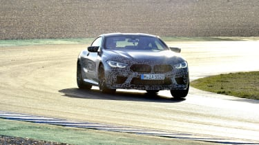 BMW M8 prototype - front
