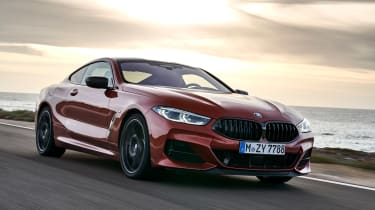 BMW M850i coupe review - tracking