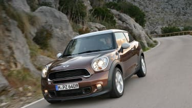 Mini Paceman Cooper S front