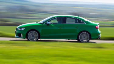 Audi RS3 saloon – side