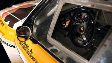 Audi Quattro - cockpit