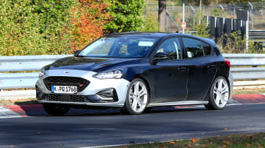 Ford Focus ST spy - front
