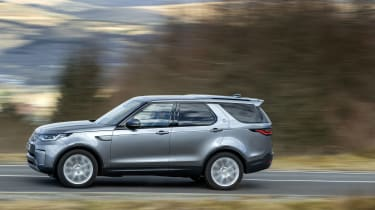 Land Rover Discovery 5 2021 - side shot