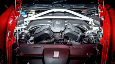 Aston Martin Vanquish Zagato engine