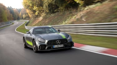 Mercedes-AMG GT R Pro review - nose
