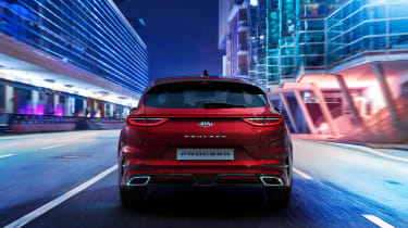 Kia Proceed - rear