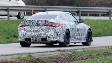 BMW M4 CS prototype 2021 - rear
