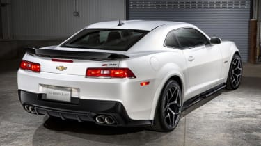 2014 Chevrolet Camaro Z28 rear view