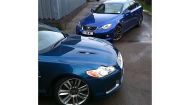 Jaguar XFR long term with Lexus IS-F