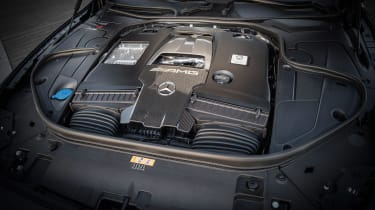 Mercedes-AMG S36 Coupe - engine