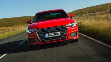Audi A6 Saloon S-Line - front