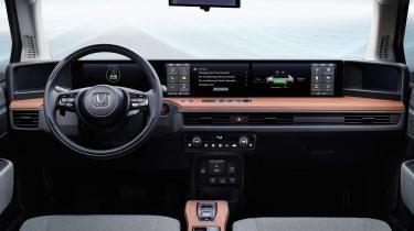 Honda e Prototype - dash