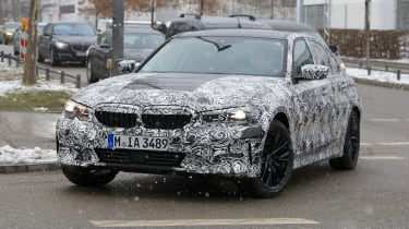 G20 BMW 3-series spy - front