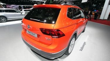 VW Tiguan Allspace - Geneva rear three quarter