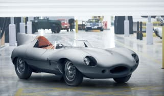 Jaguar D-Type – front quarter