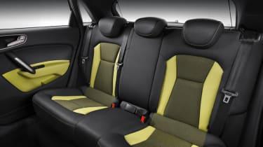 Audi A1 Sportback five-door rear seats