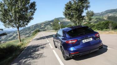 Maserati Levante Trofeo review - rear