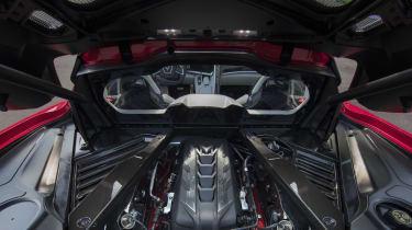 2020 Chevrolet Corvette C8 engine