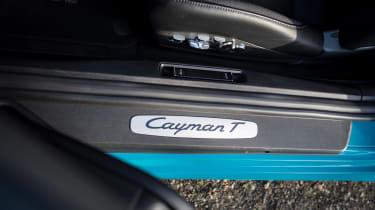 Porsche 718 Cayman T review - tread plates