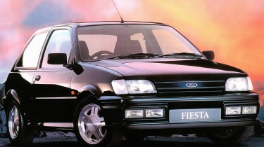 Ford Fiesta RS1800: UK's best selling car ever