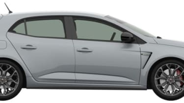 2018 Renault Sport Megane patent rendering - Side