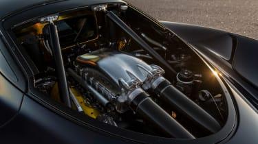 Hennessey Venom F5 aerodynamic tests