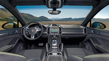 Porsche Cayenne GTS interior dashboard