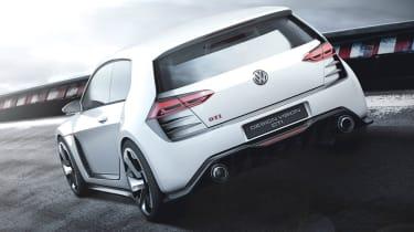 496bhp VW Golf Design Vision GTI rear