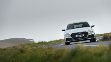 Audi A7 Sportback TDI front cornering