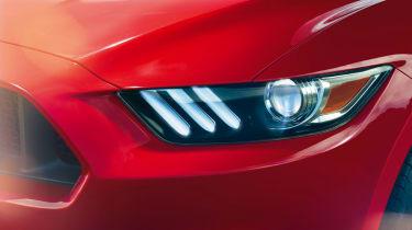 2014 Ford Mustang headlight