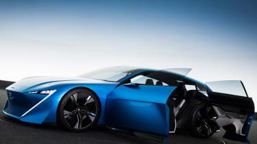Peugeot Instinct Concept - doors open