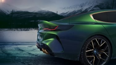 BMW M8 Concept - tail