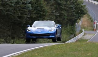 Corvette Stingray test video