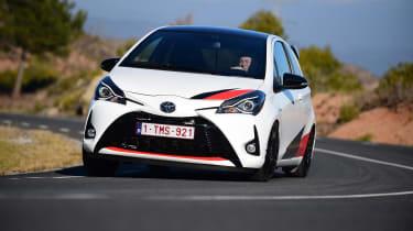 Toyota Yaris GRMN - front cornering