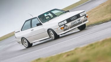 Audi Quattro - sideways